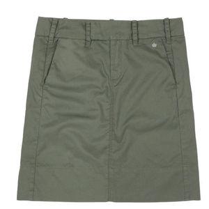 "Anthro G1 Basic Goods ""Everyday"" Twill Skirt"